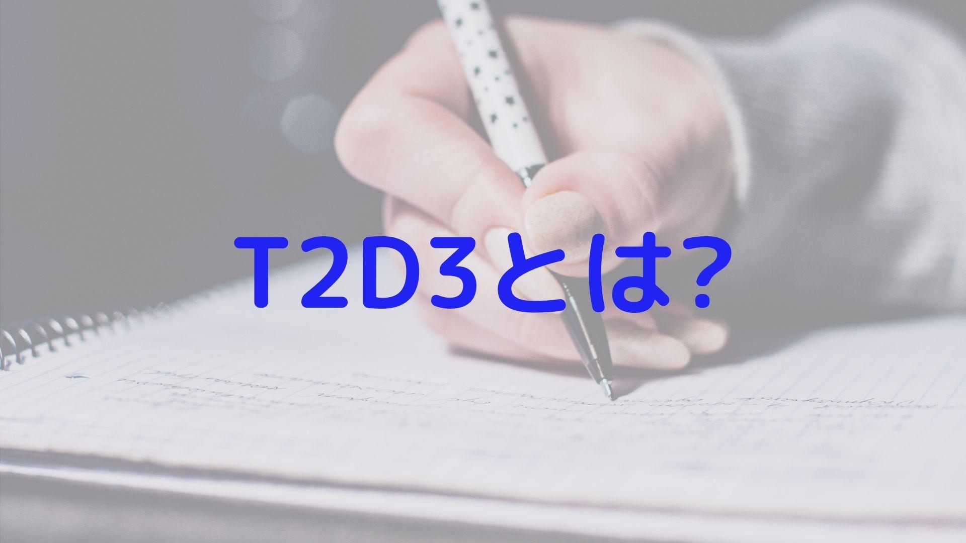 T2D3とは?